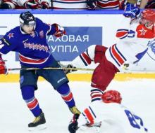 СКА дома проиграл ЦСКА