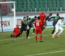 «Уфа» вырвала ничью в матче с «Мордовией»