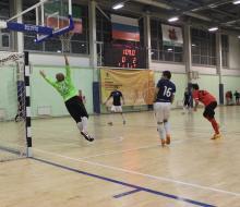 Первые итоги стартовавшего мини-футбольного чемпионата ОЛЛФ