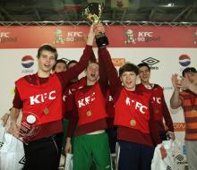 В Казани прошел отборочный этап Всероссийского Чемпионата KFC по мини-футболу